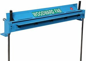New Woodward Fab 24 Straight Sheet Metal Brake Bench Top Wf24brake Wfb24