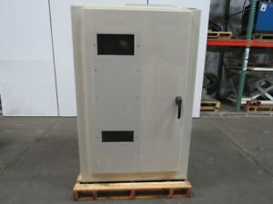 Metro Fabrication 42 wx64 tx16 d Steel Electrical Enclosure Cabinet W backplate