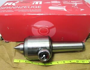 Rhm 207442 Type 652 ac Revolving Tailstock With Pressure Gage Morse Taper