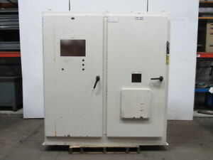 Jic Electrical Enclosure Cabinet 84x48x18 W 60a Disconnect Back Plate