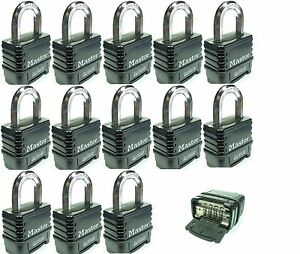 Combination Lock Set By Master 1178d lot 13 Resettable Weather Sealed Carbide