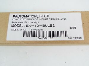 Automation Direct Ea 10 bulb2 Bulbs Replace Package Of 2 For Use 10 in C more