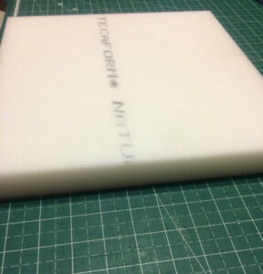 Acetal Plate Sheet 1 1 4 1 25 X 11 7 8 X 11 7 8 Natural White Delrin Pom