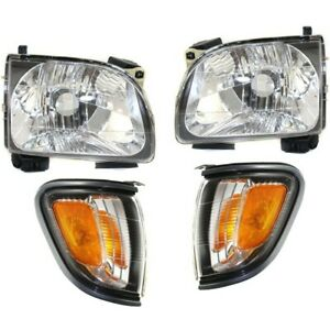 Headlight Kit For 2001 2004 Toyota Tacoma Left And Right 4pc
