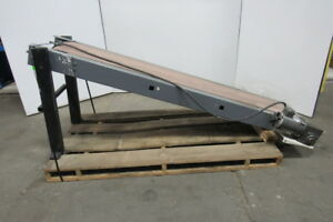 Incline Slider Bed Conveyor 14 1 2 Wide Belt 80 Bed 120fpm