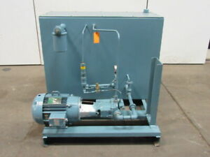 10hp 150 Gallon Hydraulic Power Unit 230 460v 3 Ph