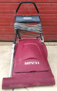 Minuteman Mpv 31 Wide Area Walk Behind Auto Power Sweeper Watch Video Free Ship