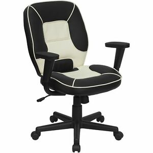 Mid back Vinyl Steno Executive Office Chair