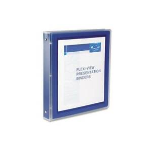 Avery Navy Flexi view Presentation View 1 inch Binders pack Of 3