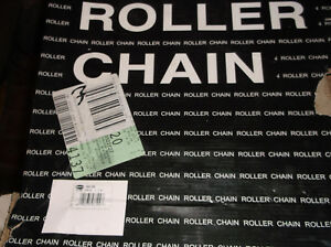 100 1 X 10ft Roller Chain W connecting Link