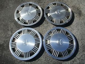 Dodge Dynasty Plymouth Voyager Caravan 14 Inch Metal Hubcaps Wheel Covers Set