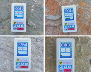 Geiger Counter Nuclear Radiation Detector Dosimeters Marble Radiation Tester
