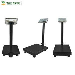 Houseables Industrial Platform Scale 600 Lb X 05 Digital Shipping Price Postal