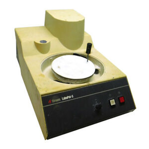 Struers 05206116 Labopol 5 Grinder Polisher 8 Turntable Variable Rpm as is