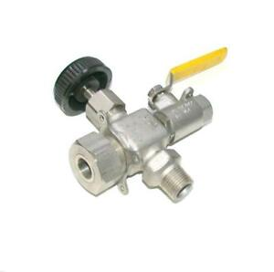 Apollo Conbraco Cf8m D2000 Wog Stainless Steel Needle Ball Valve Assembly