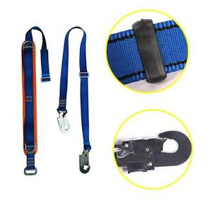 Falltech Fall Protection Safety Restraint Positioning Lanyard Climbing Save belt