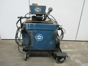 Miller Cp 300 300a Welding Power Source W millermatic 10 e Wire Feed Mig Welder