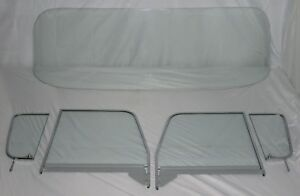 Clear Glass 1955 1959 Chevy Gmc Pickup Truck Windshield Assembled Vent Door