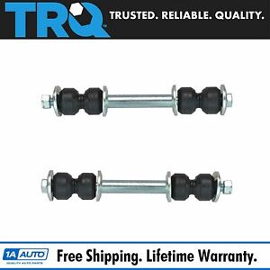 Front Stabilizer Sway Bar End Links Lh Rh Pair Set For Chevelle Cougar Gto