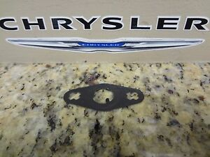 03 09 Chrysler Pt Cruiser New Turbo Oil Return Pipe Gasket Mopar Factory Oem