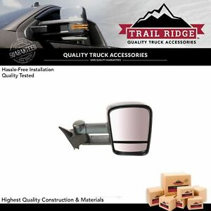 Trail Ridge Towing Mirror Manual Passenger Side Right Rh For Chevy Gmc Truck New
