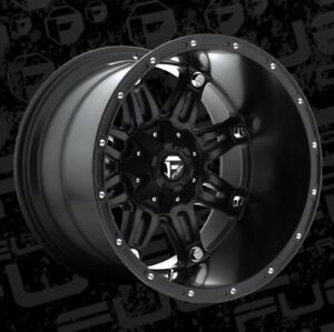Fuel Hostage D531 20x14 8x6 5 Et 76 Matte Black Wheels Rims Set Of 4