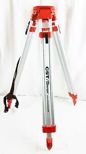 Cst Chicago Steel Tape Co Aluminum Adjustable Tripod For Surveying Equipment
