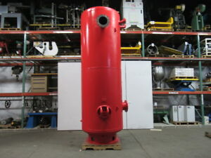 Vertical Compressed Air Receiver Tank 1400 Gallon 125 Psi Wp