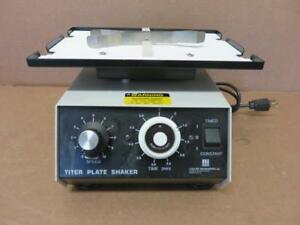 Lab line 4625 Titer Plate Shaker Rocker With Holding Clamp