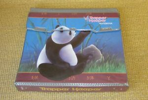 Mead Trapper Keeper Vintage 1991 Panda China Full Size Notebook 3 ring Binder