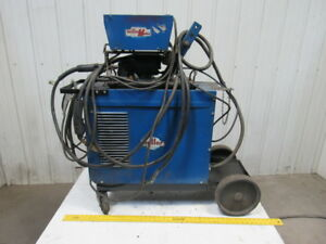 Miller Cp 200 200a Welding Power Source W millermatic 10 e Wire Feed Mig Welder