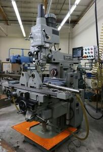 Sharp Vh 3 Vertical Mill With Horizontal Spindle