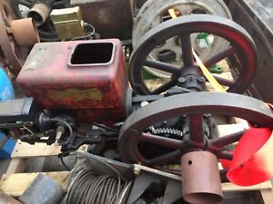 Economy Hit Miss Engine Complete Original Barn Find Free Shipping