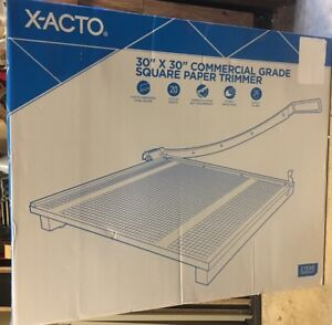 X acto 30 X 30 Commercial Grade Square Paper Trimmer 30 Inch Cut