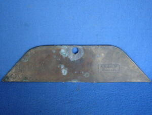 Vintage Oem Model T Ford Motor Co Part 1909 1915 Brass Radiator Rear Face Plate