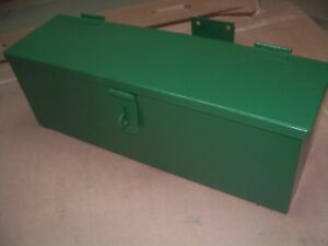Oliver 1600 1800 1900 Farm Tractor Factory Rear Mounted Tool Box Very Nice