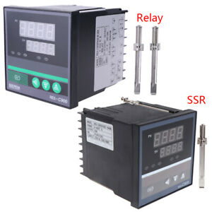 Pid Temperature Controller Rex c900 Universal Input Ssr Relay Output 96 96mm New