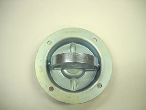 15 D Ring 6000 Recessed Swivel Tie Down With Back Plates Trailer Truck