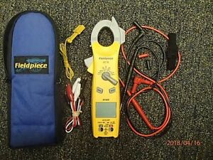 Fieldpiece Clamp Meter Sc420 W leads And Case