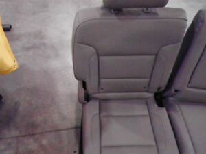 2017 Silverado 2500 Crew Cab Right Rear Seat Tan Leather Split Bench