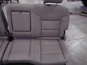 2017 Silverado 2500 Crew Cab Left Rear Seat Tan Leather Split Bench