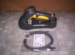 Symbol Ls3578 fz20005wr Wireless Barcode Scanner W Cradle Usb Cable