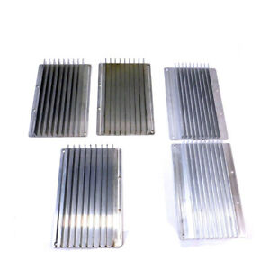 Assorted Anodized Aluminum Heatsinks 3 9 X 6 875 X 1 2 9 X 6 75 X 1