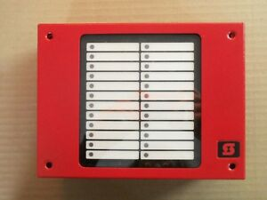 New Simplex M24 Annuniciator Fire Alarm With Lettering Sswa0023