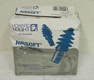 Howard Leight Air Cushioned Reusable Corded Earplugs Qty 100 Pairs dpas 30w