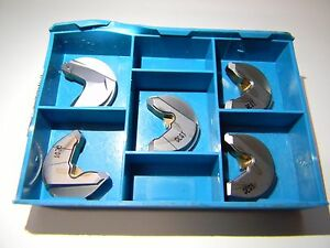 Ingersoll Carbide Milling Inserts Qty 5 Nchx250600r Grade In1030 5803376