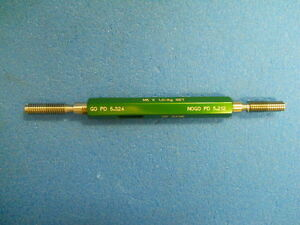 Greenfield M6 X 1 Truncated Taper Thread Gage