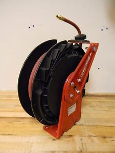 Reelcraft Spring Retractable Hose Reel 50 X 3 8 Rt650 olp