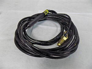Esab 94804 Heliarc Tig Welding Torch 12 5ft Hose Hw 20 Water Cooled 300 Amperage