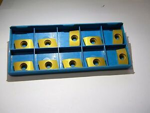 Ingersoll Carbide Milling Inserts Bde434r002 Grade In6530 5806232
